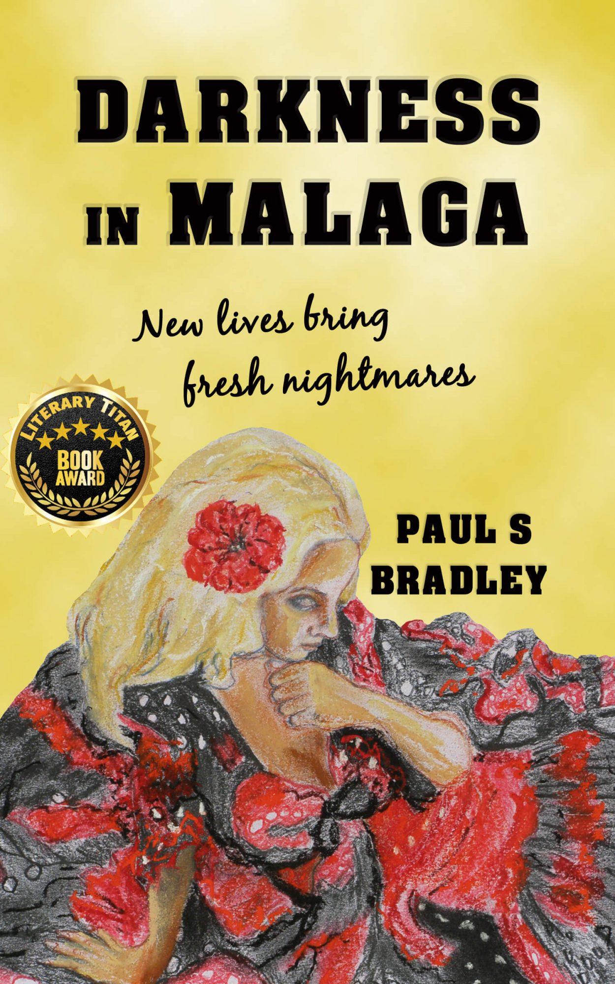 Darkness in Malaga Book Cover