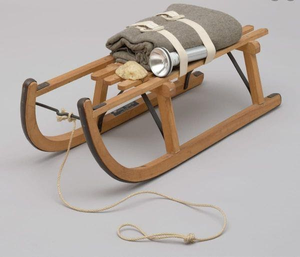"""The Sled,"""" by German Artist, Joseph Beuys"""